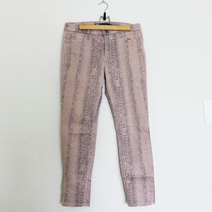 JOE'S Jeans   Snake Skin Ankle Denim Pants